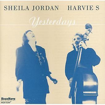 Sheila Jordan - Yesterdays [CD] USA import