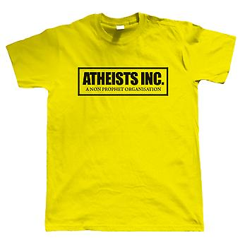 Atheists Inc, Mens Funny T Shirt - Gift for Him Dad Grandad