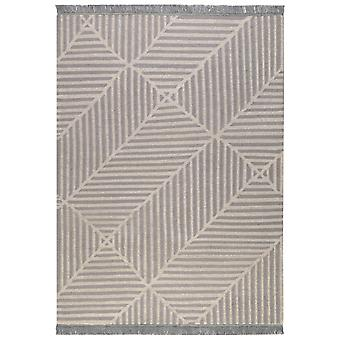 Irregular Fields Rugs 0008 03 By Carpets & Co In Grey And Ice Blue