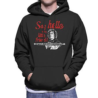 Say Hello To My Little Friend Tyrion Game Of Thrones Men's Hooded Sweatshirt