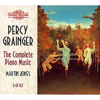 P. Grainger - Percy Grainger: The Complete Piano Music [CD] USA import