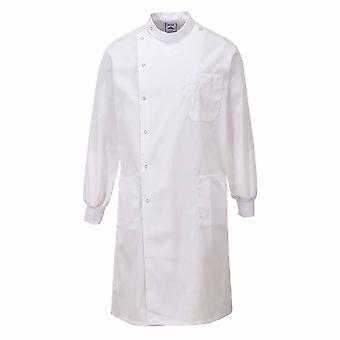 بورتويست--هوي عمال المعمل القياسية-معطف الإعدادية الغذاء الطبي-تيكسبيل الانتهاء