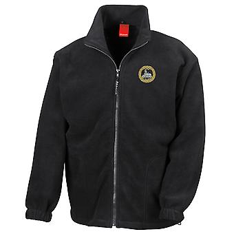 The South Wales Borderers Embroidered Logo WW1 - Official British Army Full Zip Fleece