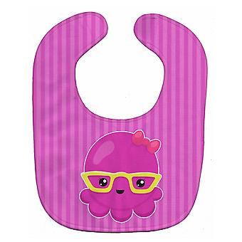 كارولين الكنوز BB8909BIB الأخطبوط الوردي بحري مع مريلة بيبي نظارات