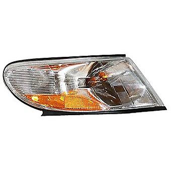 TYC 18-6057-00 Saab 9-3 Front Passenger Side Replacement Signal/Side Marker Lamp Assembly