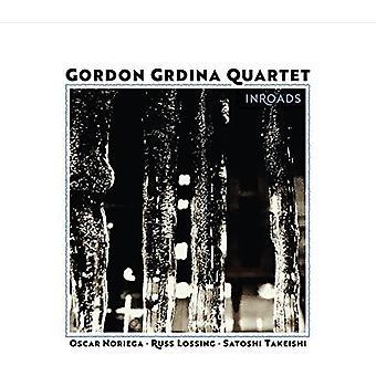 Gordon Grdina Quartet - Inroads [CD] USA import