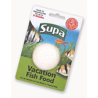 Supa Fish Food Vacation Block
