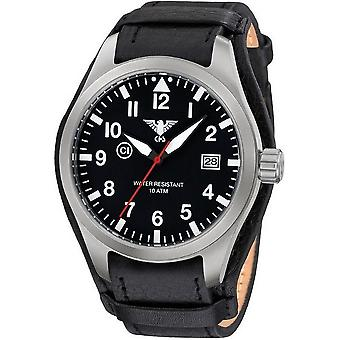 KHS watches mens watch Airleader steel KHS. AIRS. R