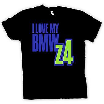 T-shirt Mens - eu amo meu BMW Z4 - entusiasta do carro