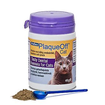 Proden PlaqueOff Cat Feline Formulation for Bad Breath, Plaque and Tartar (40g)