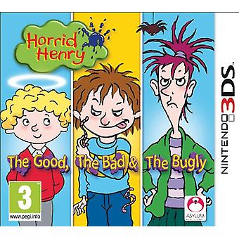 Horrid Henry The Good  The Bad and The Bugly (Nintendo 3DS) - New