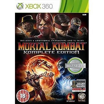 Mortal Kombat-spel van het jaar Edition (Xbox 360)-fabriek verzegeld