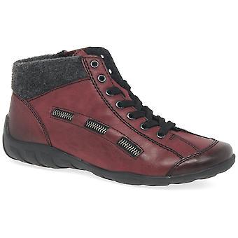 أحذية جين Rieker عارضة النسائي الرباط حتى الكاحل