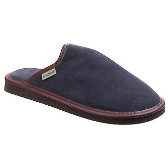 Cotswold Mens Reg Lightweight Mule Slipper Navy
