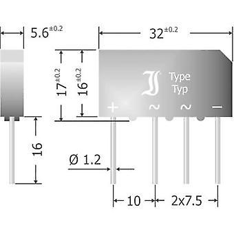 Diotec B500C7000-4000A דיודה 4 1000 V 7 A-שלב 1
