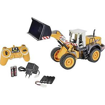 Carson RC Sport Wheel loader 1:20 RC scale model for beginners Heavy-duty vehicle Incl. batteries and charger