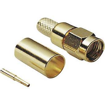 Polarità del connettore Plug, dritto 50 Ω BKL Electronic 0409078 1/PC reverse SMA