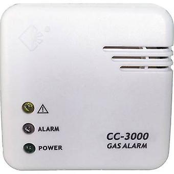 Cordes Haussicherheit CC-3000 Gasmelder lichtnet-aangedreven detecteert methaan, butaan, propaan