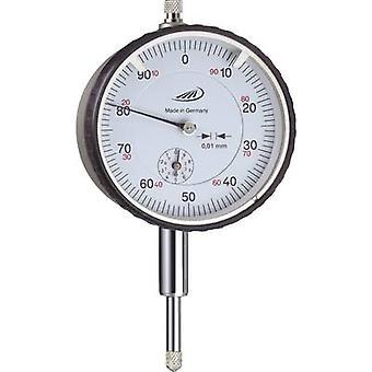 HELIOS PREISSER 0701110 Dial gauge 10 mm Reading: 0.01 mm