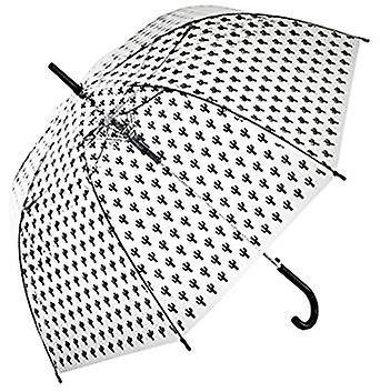 Straight Clear Umbrella (Small cacti)