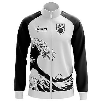 Japani käsite jalkapallo Track Jacket (valkoinen) - lapset