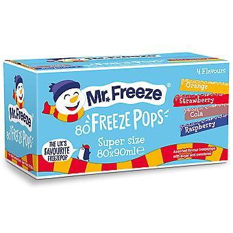 Mr フリーズ アイスキャンディーに混合選択がポップアップ表示されます。
