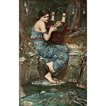 O Encantador, John William Waterhouse, 60x40cm