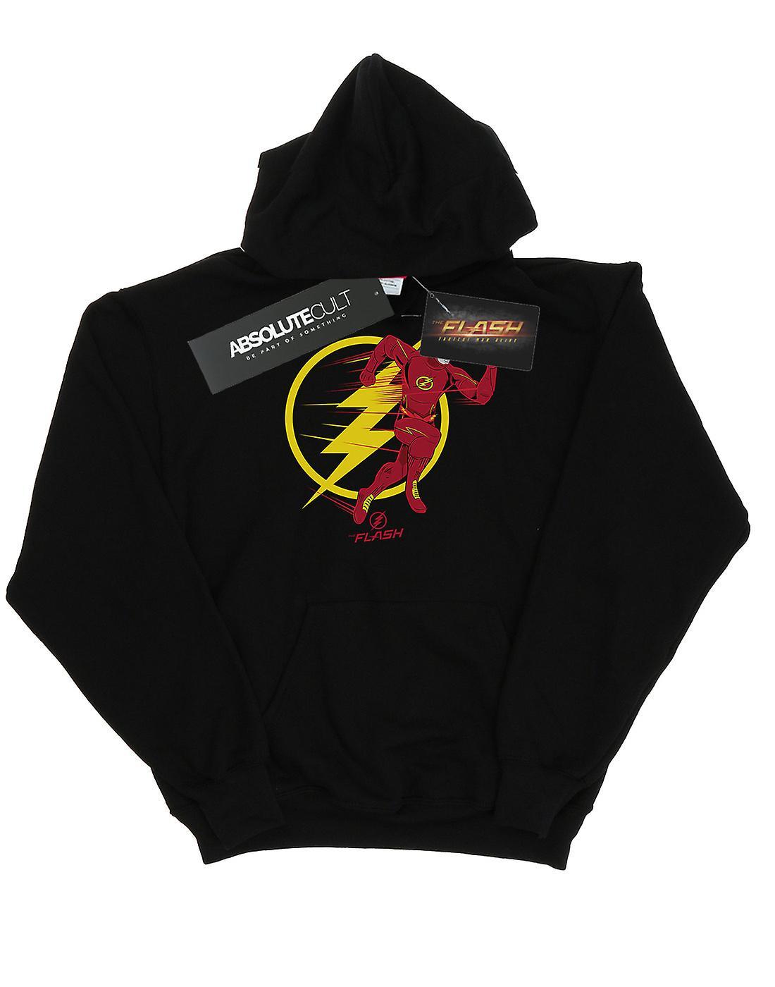 DC Comics Boys The Flash Running Emblem Hoodie