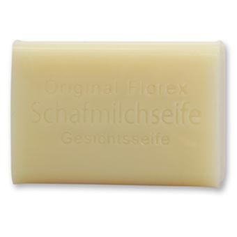 Florex wysokiej jakości mleko owcze mydło do twarzy łagodne oczyszczanie delikatna pielęgnacja zestresowanej skóry z masłem shea 100g