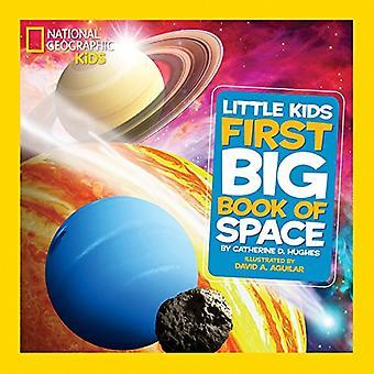 Nationella geografiska små barn första stora boken utrymme