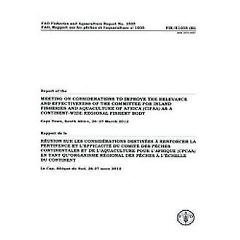 Verslag van de vergadering op de overwegingen om de relevantie en doeltreffendheid beoordeeld van de Commissie