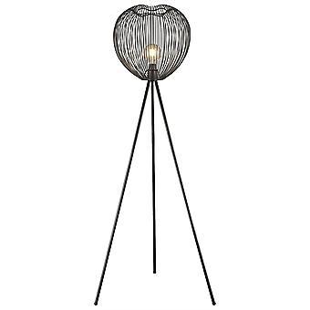Iluminación - Leeds Matt Black lámpara de pie EPMM040NC1GMPM de primavera