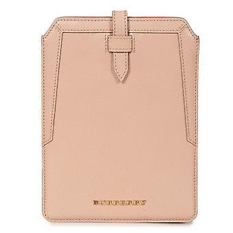 Burberry ústřice růžová oblázková kůže iPad Mini Case