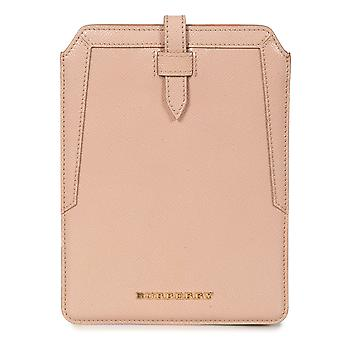 Burberry Oyster Pink pebbled nahka iPad mini asia