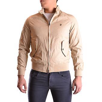 Dondup Ezbc051040 Men's Beige Polyester Outerwear Jacket