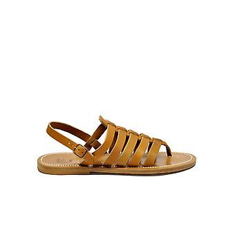 K.jacques Homerehpulnaturel Men's Brown Leather Sandals