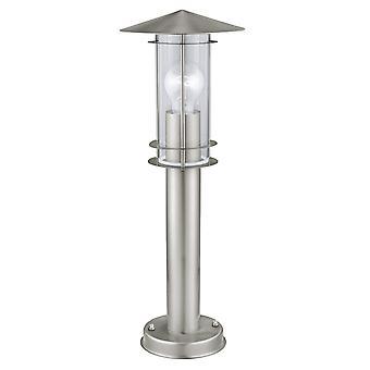 Eglo Lisio IP44 exterior acero inoxidable luz de Pedestal