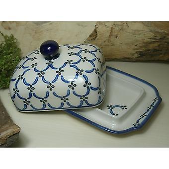 Smør fad, 250 g, tradition 25 - boleslawiec aardewerk - BSN 6882