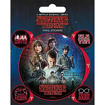 Stranger Things Official Stickers Set (Pack of 5)