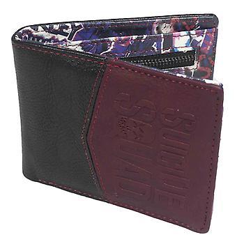Embossed Suicide Squad Logo Bi-Fold Wallet