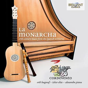Falconieri/Corbetta/Murcia/Vois/Sweelinck/Corbetta - La Monarcha [CD] USA import