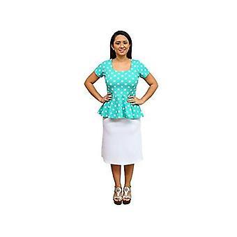 Dbg women's polka dots short sleeves blouses