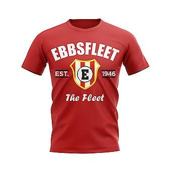 Ebbsfleet Established Football T-Shirt (Red)