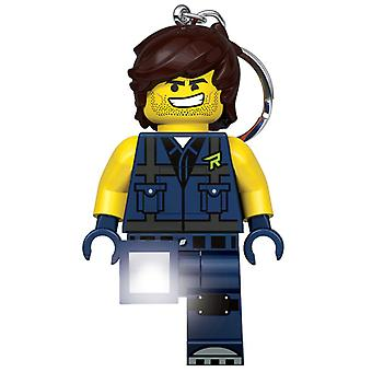 Lego Movie 2 Rex Dangervest Keylight Keyring