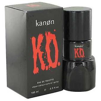 Kanon ko door kanon Eau de Toilette Spray 3,3 oz (mannen) V728-498260