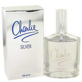 Charlie Silver van Revlon Eau de Toilette Spray 3,4 oz (vrouwen) V728-417352