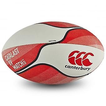Canterbury Herren Catalast XV Standard Grip Match Rugby Ball