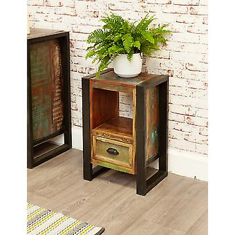 Urban Chic Lamp Table / Bedside Cabinet Brown - Baumhaus