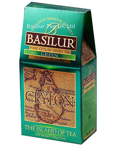 Basilur Tea Pure Ceylon Green Loose Tea Pack X100g
