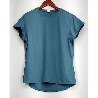 Zorrel Plus Top XXL Short Sleeve w / Body Heat Regulation Blue Womens